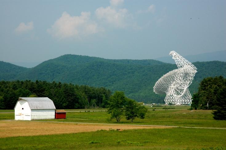 """The Big Dish"" by Erik Dunham (Green Bank, WV) (CC)"